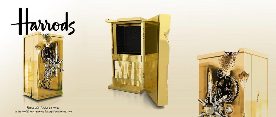 Exclusive Design at Harrods Boca do Lobo - Millionaire Safe Box Exclusive Design at Harrods: Boca do Lobo Exclusive Design at Harrods: Boca do Lobo Exclusive Design at Harrods Boca do Lobo Millionaire Safe Box