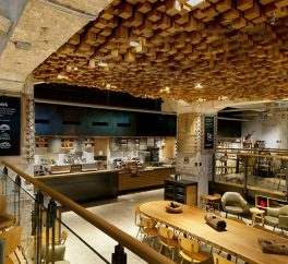 The Most Beautiful Starbucks Store: The Bank in Amsterdam