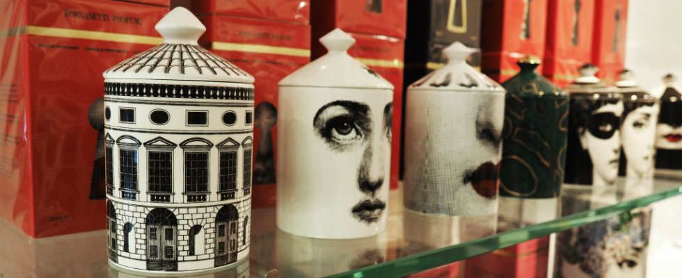 New Fornasetti Store at the Milan Fashion District New Fornasetti Store New Fornasetti Store at the Milan Fashion District feat