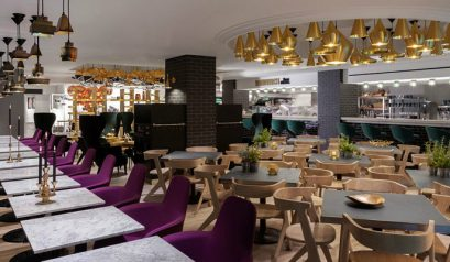 Meet The Amazing Sandwich Restaurant by Tom Dixon Restaurant by Tom Dixon Meet The Amazing Sandwich Restaurant by Tom Dixon feat 13 409x238