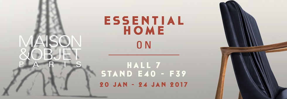 Maison et Objet 2017: Meet the Mid-Century Style of Essential Home Maison et Objet 2017 Maison et Objet 2017: Meet the Mid-Century Style of Essential Home banner homepage mo17 1