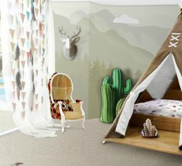 Kids Bedroom Ideas: Meet Original Teepee Room By Circu ➤To see more interior design ideas and the best shops visit us at http://interiordesignshop.net #interiordesign #salonedelmobile #isaloni @interiordesignshop original teepee room Kids Bedroom Ideas: Meet Original Teepee Room By Circu featshops 6 264x240